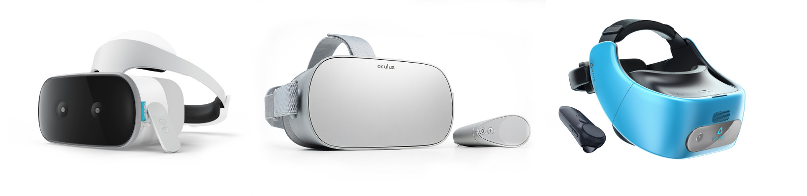 Samsung GearVR powered by Oculus, Google Daydream View and Acatel Cricket